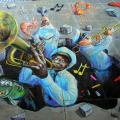 Brass Band Street Art thumb