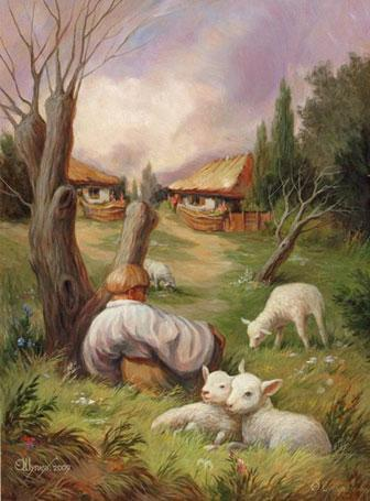 Oleg Shuplyak hidden face illusion