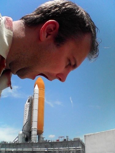 Hot dog Space Shuttle