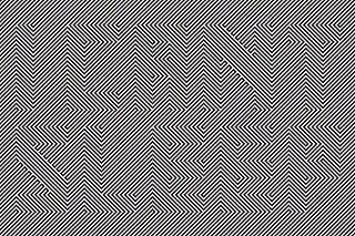Hidden message illusion