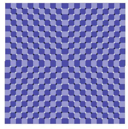 Moving squares illusion