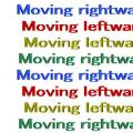 Moving text illusion thumb