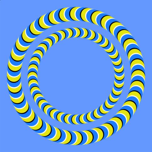 Spinning Spiral Circle