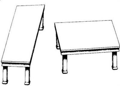 Table Size Illusion
