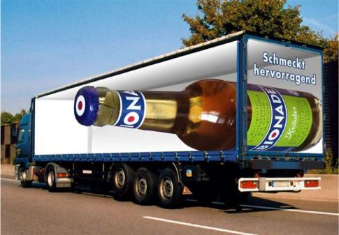 Truck with Bottle